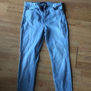 J Brand Maria High Rise Skinny Quatro Jeans